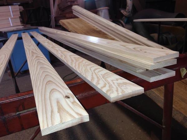 幅木施工例