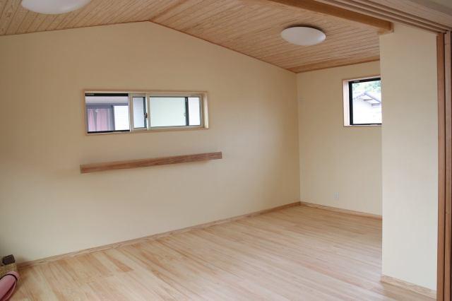 桧天井・床写真